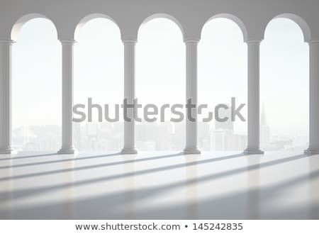 3d antique classical architecture roman monument render Stock photo © Melvin07