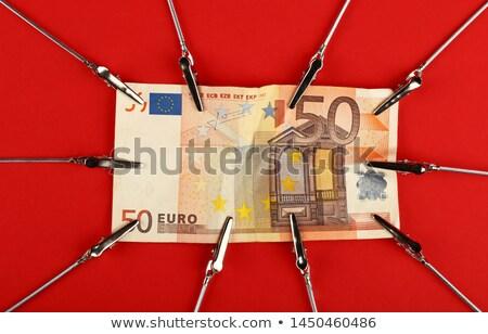 pulling euro Stock photo © kovacevic