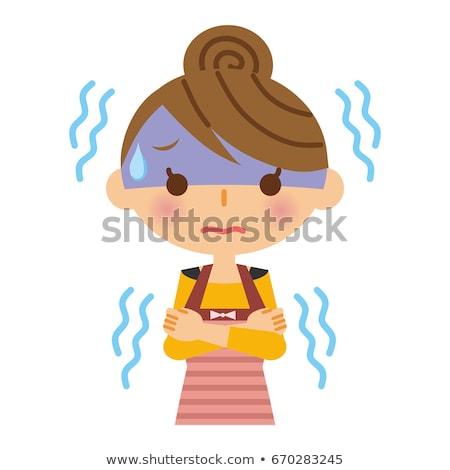 человека женщины иллюстрация акцент версия женщину Сток-фото © digitalstorm