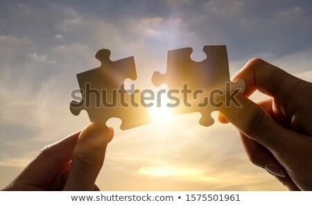 Foto d'archivio: Strategy Jigsaw Puzzle