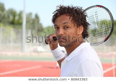 男性 · 肩 · ゲーム · 裁判所 - ストックフォト © photography33