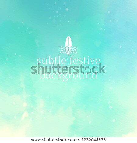 Colorful lines on light green background. EPS 8 Stock photo © beholdereye