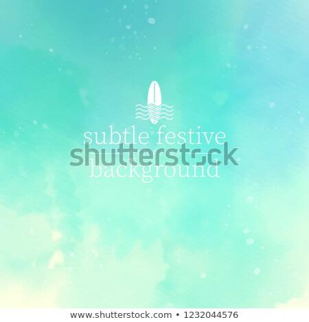 Színes vonalak világoszöld eps vektor akta Stock fotó © beholdereye