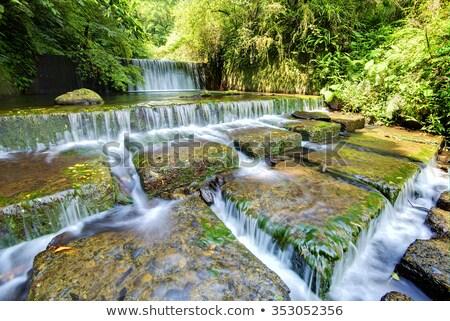 cascade · ressources · naturelles · printemps · beauté · Voyage - photo stock © ralanscott