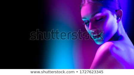 portrait of beautiful model Stock photo © zastavkin