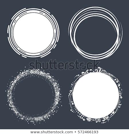 vector circles design Stock photo © Pinnacleanimates