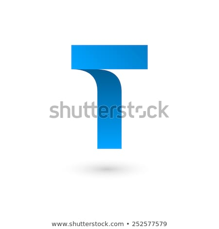 Glossy Icons for letter T stock photo © cidepix