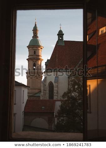 old windows in graz stock photo © spectral