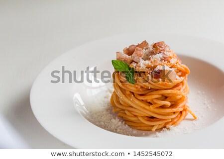 пасты · помидоров · белый · продовольствие · нефть · цвета - Сток-фото © chrisjung