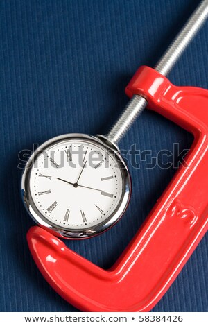 Vise Grip and Clock Stock photo © devon