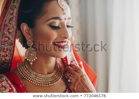 Indian bride Stock photo © szefei