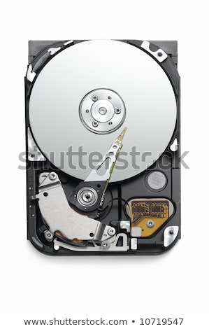 open hard drive unit from above Stock photo © shutswis
