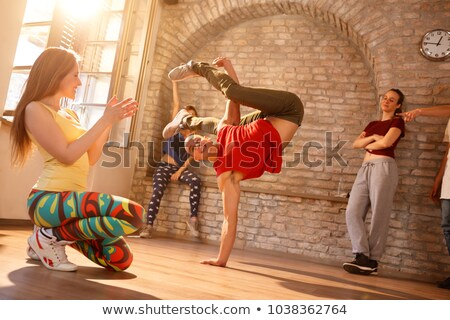 Stock photo: Brake dance