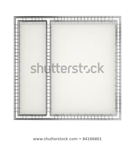 Establecer metálico etapa luz estudio aparatos de iluminación Foto stock © Nneirda