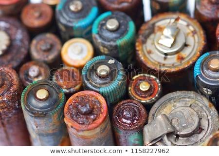 Old Battery Stock photo © cosma