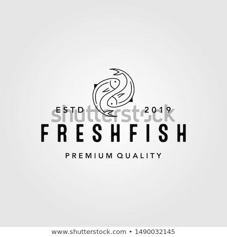 Fish yin yang Stock photo © sahua