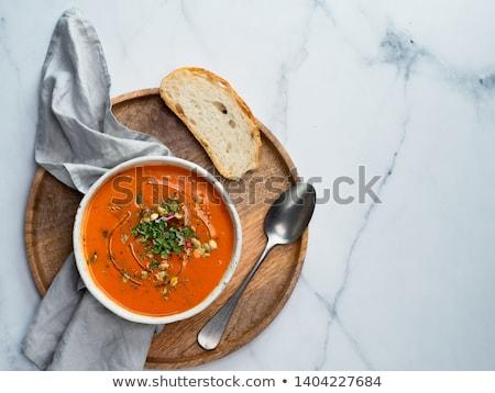 copo · fresco · tomates · raso · beber - foto stock © m-studio