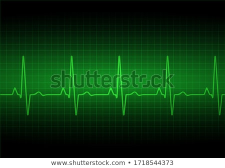 Heart pulse monitor Stock photo © Grafistart