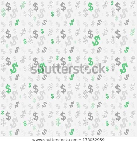 Seamlessly dollars background. Stock photo © Leonardi