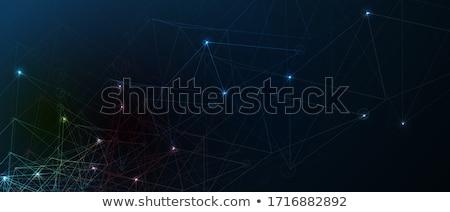Business draad golven abstract ontwerp kunst Stockfoto © WaD
