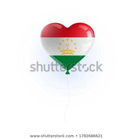 Balloon colored in  national flag of tajikistan    Stock photo © vepar5