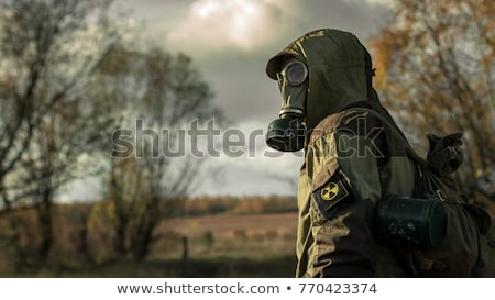 Gas mask soldiers Stock photo © stevanovicigor