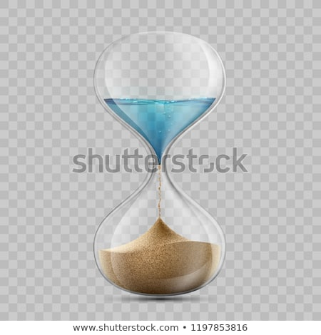 Klepsydry wody czasu ciemne Zdjęcia stock © cosma