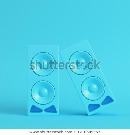 цвета аудио ораторов набор технологий дискотеку Сток-фото © timurock