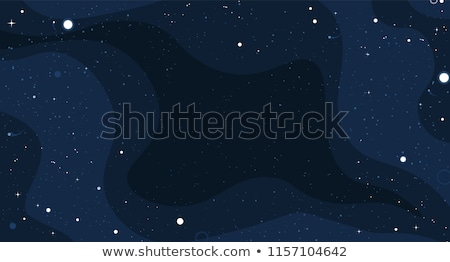 Space background with stars and comets Stock photo © gladiolus