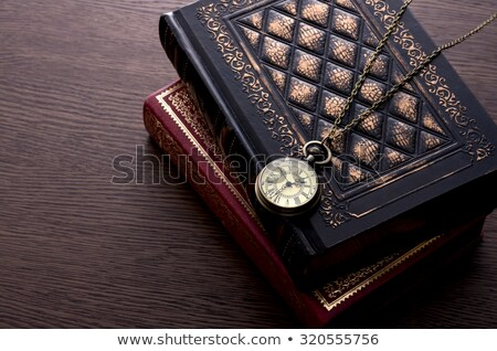 Learning on Pocket Watch Face. Time Concept. Stock photo © tashatuvango