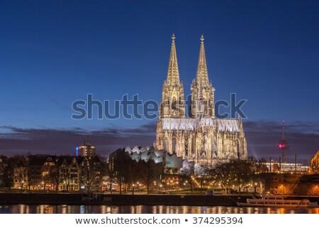 Parfüm katedrális Németország gótikus stílus dedikált Stock fotó © aladin66