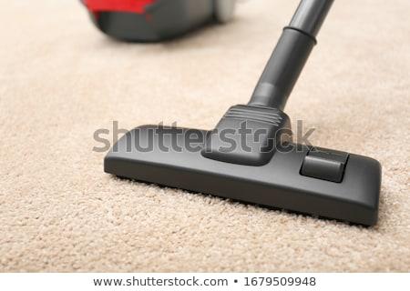 Vákuum takarítás új szőnyeg porszívó márka Stock fotó © stevanovicigor