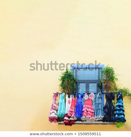 Traditionnel robes détail coloré Photo stock © photosebia