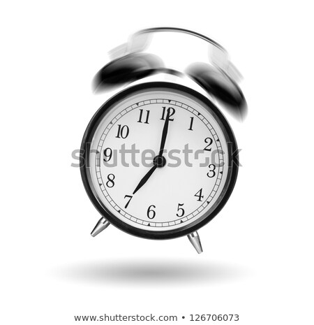 Jumping alarm clock Stock photo © my-photomir
