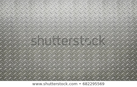diamantes · placa · textura · de · metal · enorme · hoja · metal - foto stock © arenacreative