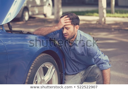 Broken Car On Street Stock photo © AndreyPopov