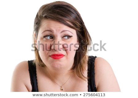 Expressive woman showing revulsion and aversion Stock photo © ozgur