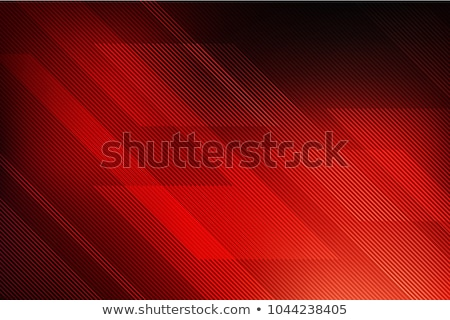 abstract smooth lines vector red background stock photo © saicle