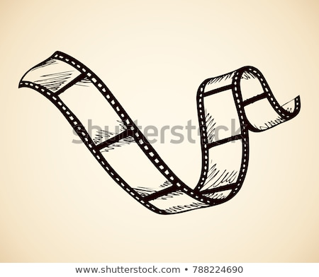film strip sketch stock photo © donatas1205