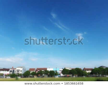 Beautiful clear skies during the day, the clouds are good. Stock photo © teerawit