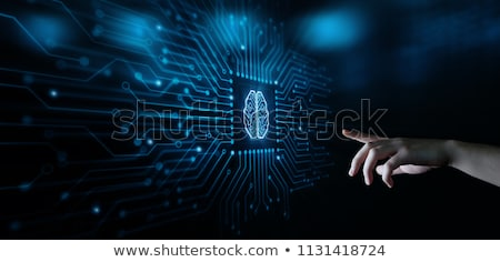 Intelligenz Maschine Denken Technologie Neurologie Stock foto © Lightsource