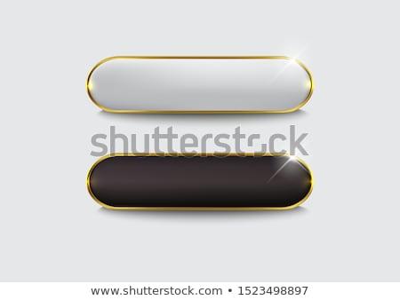 черно белые Кнопки искусства мяча успех белый Сток-фото © inoj