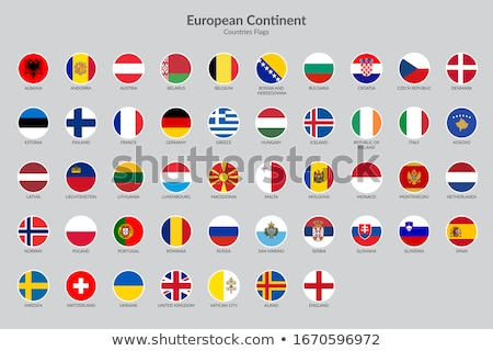 Kitűző zászló Európa háttér kék csillag Stock fotó © shutswis
