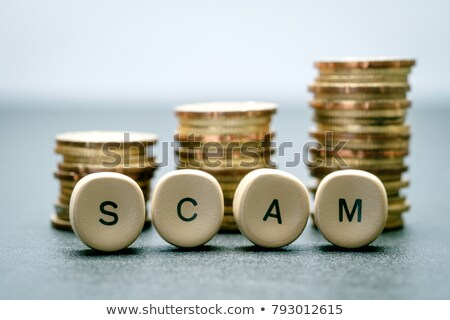 scam word stock photo © fuzzbones0
