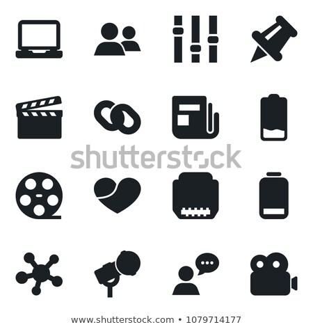 映画リール · 映画 · その他 · 白 · ビジネス · 背景 - ストックフォト © giko
