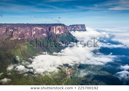 Vue brouillard Venezuela amérique latine mur nature Photo stock © Mariusz_Prusaczyk