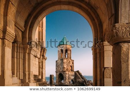 Catedral Geórgia igreja sol paisagem verde Foto stock © master1305