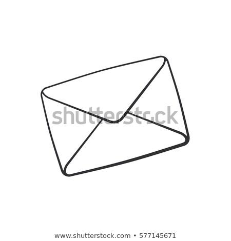 doodle email icon stock photo © pakete