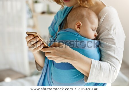 baby with phone stock photo © Paha_L