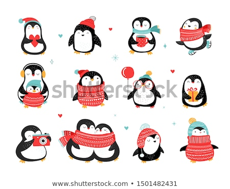 penguins family Stock photo © adrenalina